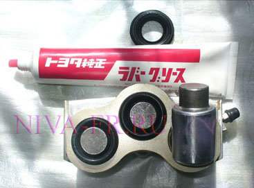 передний тормозной цилиндр нива, смазка Seiken