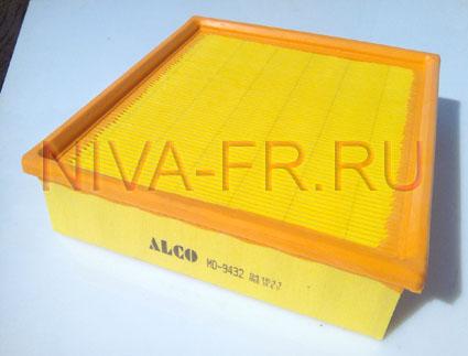воздушный фильтр нива, производитель Alco