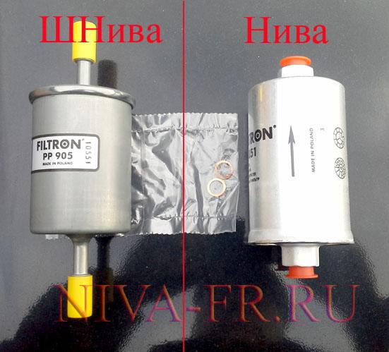 фильтры топливные для нивы и нивы шевроле.